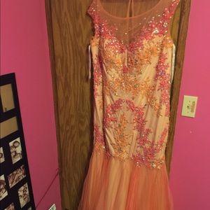 A Rachel Allan Mermaid dress